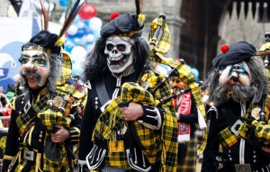 Ежегодный карнавал в Германии