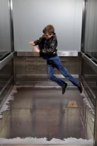 Бездонный лифт в Лондоне