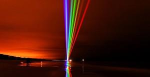 Лазерная радуга