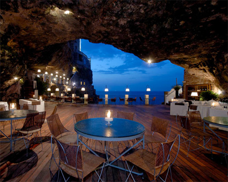 Пещерный ресторан