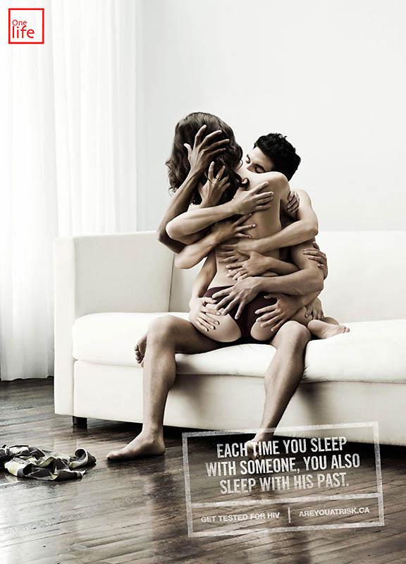 Каждый раз, когда вы с кем то спите, вы спите с его прошлым.