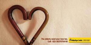 Старикам тоже нужна ваша любовь.