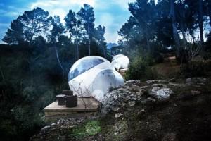 """Интересный отель """"Bubble"""" во Франции"""