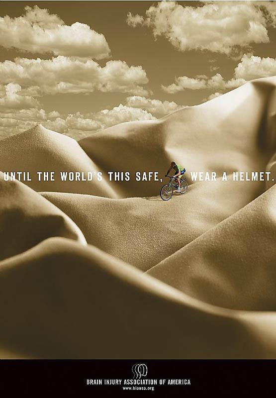 Пока мир не такой безопасный, носи шлем.