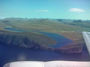 Cамое большое озеро Фарерских осторовов - Озеро Сорвагсватн