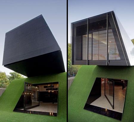 Дом в холме от архитектора Эндрю Мэйнарда
