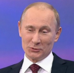 Никто кроме Путина (смущение, смех, радость)