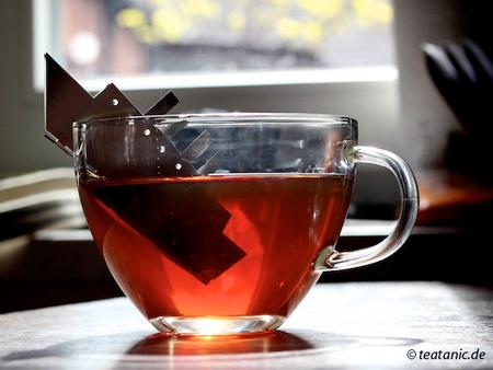 TEA.tanic - креативный держатель для пакетиков чая