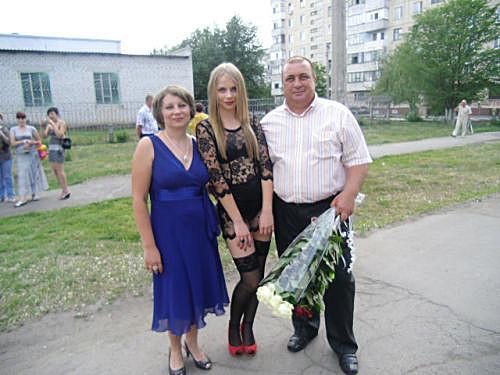 Ситуация вокруг выпускного наряда украинки :)