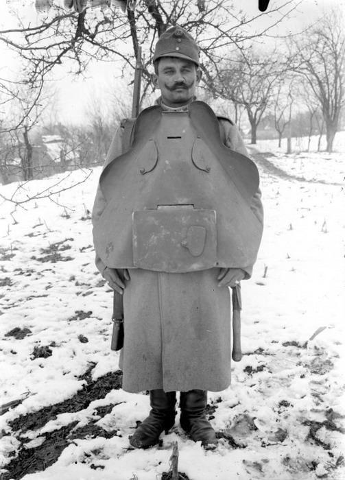 Военный костюм-трансформер - ironman времен Первой мировой войны