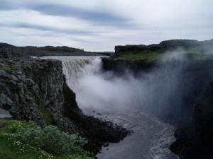 Самый сильный водопад на территории Европы