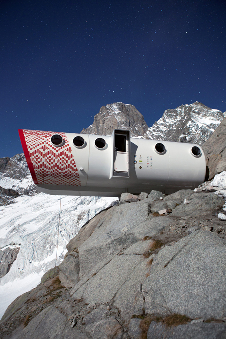 Самый опасный отель в мире, который находиться на Альпах
