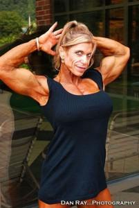 Женская красота в мускулах. Девушка, паурливтинг, бодибилдинг. Евгений Пермяков
