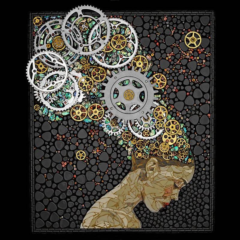 Как сделать мозаику своими руками из подручных материалов