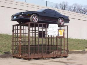 Парковка в неположенном месте не удалась