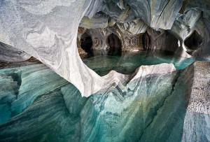 Красивые мраморные пещеры