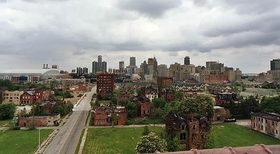 город США Детройт