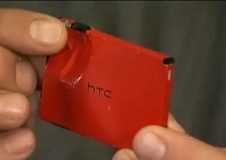 HTC EVO 4G Останавливает пули