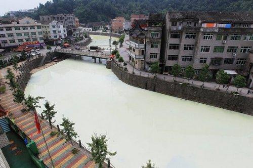 Молочная река существует на самом деле