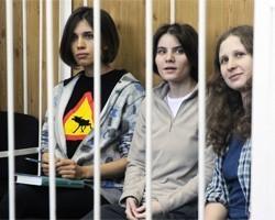 Pussy Riot получили по 2 года лишения свободы