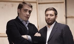 Эдуард Багиров и Сергей Минаев