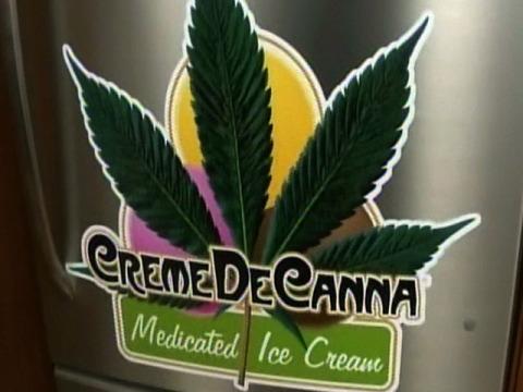 мороженое с марихуаной