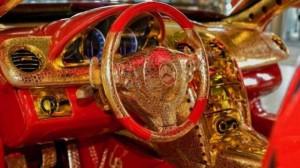 На продажу выставлен золотой Mercedes-Benz