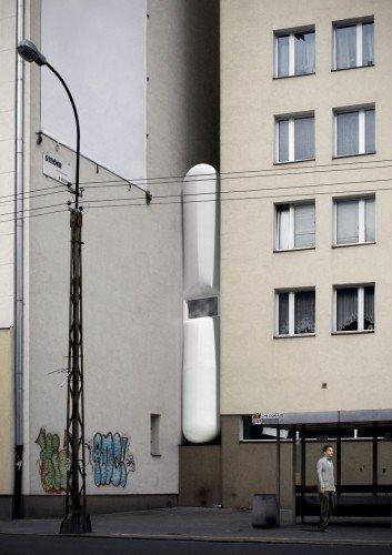 В Варшаве построили - Самый узкий дом в мире