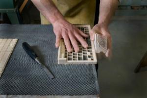 Настоящая деревянная клавиатура