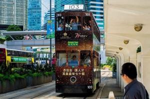 Двухэтажные трамваи как символ города