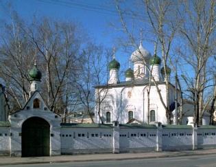 Бордель в Сретенском монастыре в Москве