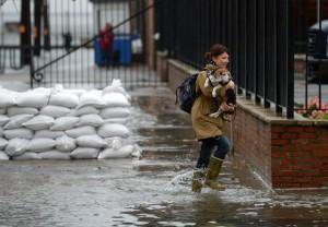 Ураган «Сэнди» в США набрал большие обороты