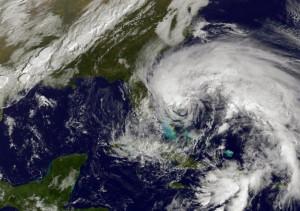 Ситуация вокруг урагана Сэнди
