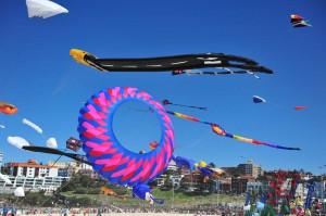 Фестиваль воздушных змеев прошел в Австралии