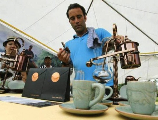Кофе, который «делают» слоны
