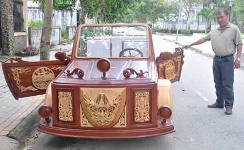 Первая деревянная машина Вьетнама