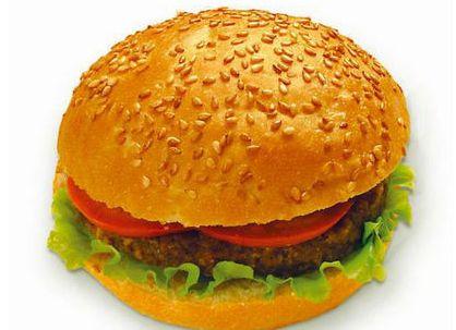 Гамбургер как еда для инопланетян