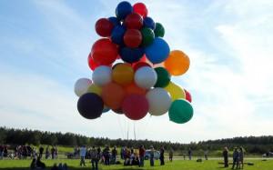 Путешествие через Ла-Манш на воздушных шарах