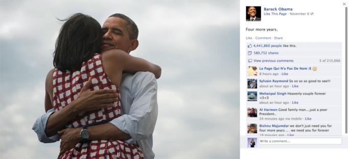 Названы самые популярные фото года в «Фейсбуке»
