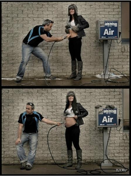 Патрис Ларош делает ребенка