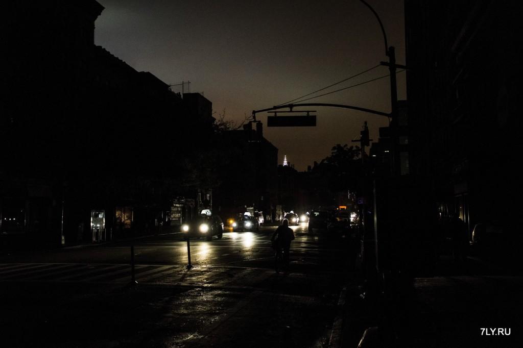 Фотографии ночного сердца Нью-Йорка.