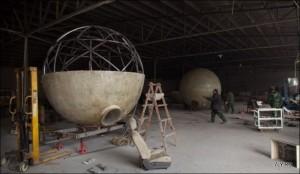 Необычный бункер на Конец Света от Лу Чженхай