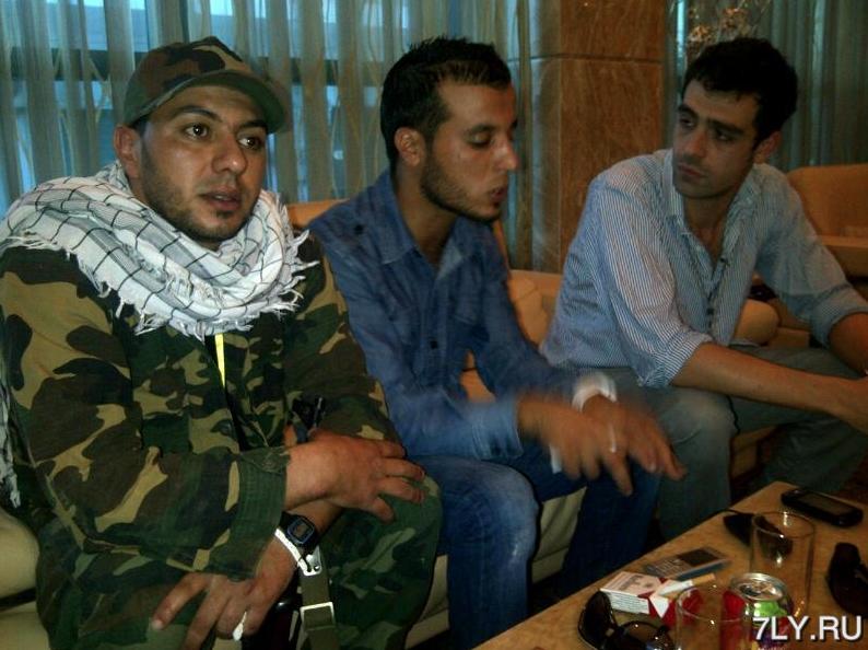 Чаепитие с убийцей Каддафи