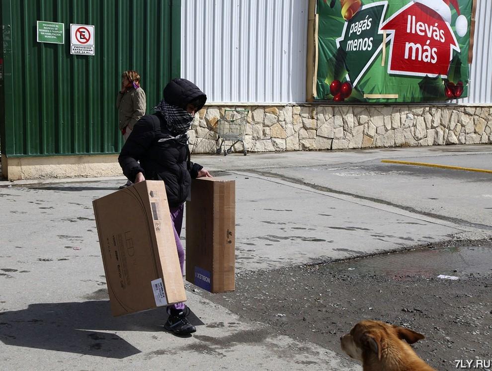 Массовое ограбление в Аргентине