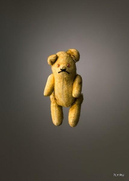 Фотографии многострадальных игрушек.