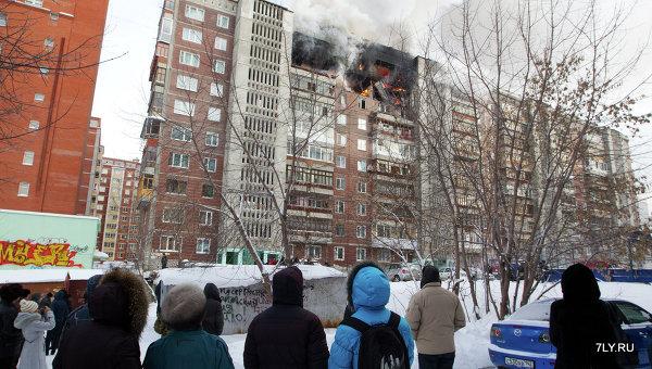Взрыв дома в Томске.