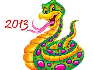Новый Год 2013, Год Змеи
