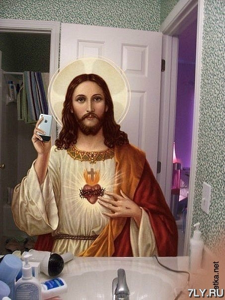 Самострел в зеркале иисус