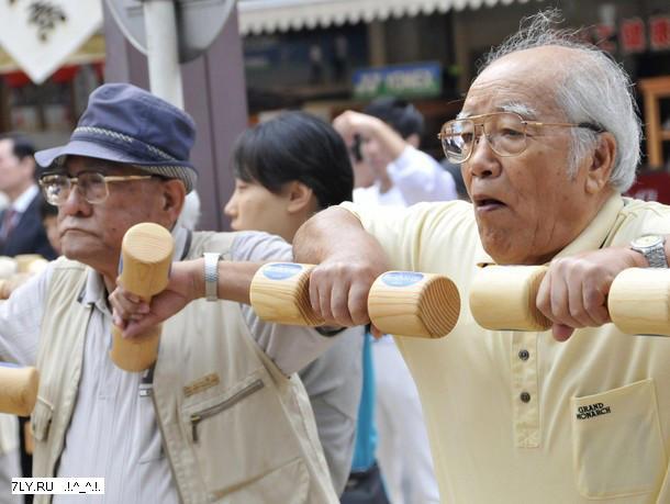 Аэробика полезна пожилым людям