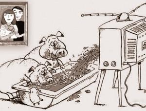 СМИ воспитывают дебилов